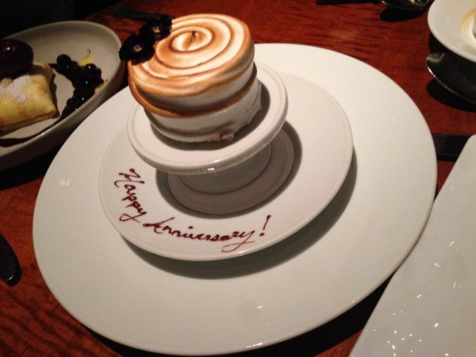 A classy touch from the un-speakeasy, the Gramercy Tavern.