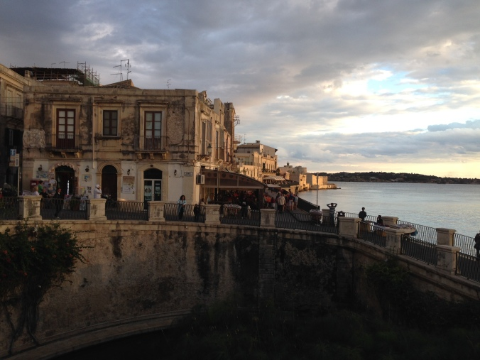 Embarrassingly beautiful Siracusa.