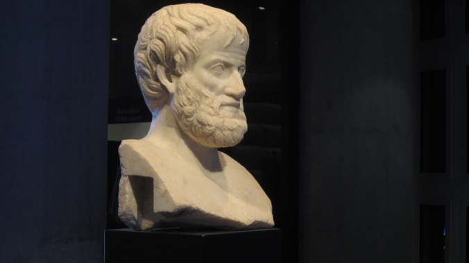 Can you believe they just found this perfectly intact bust of Aristotle in 2005?
