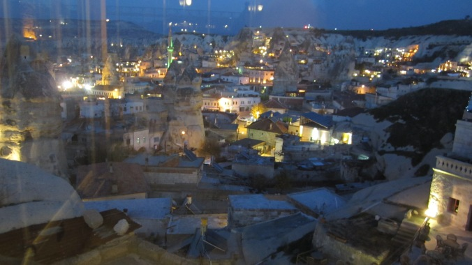 Goreme at night