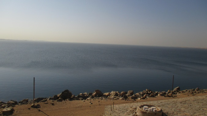 Nasser Lake, formed by the Aswan dam.