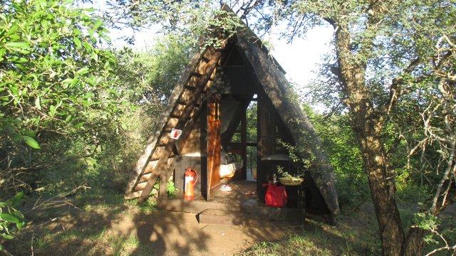 Our cute hut.