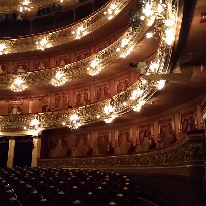 Just another beautiful theatre without a performance. (Photo courtesy of Janine, who graciously agreed to let me use it.)