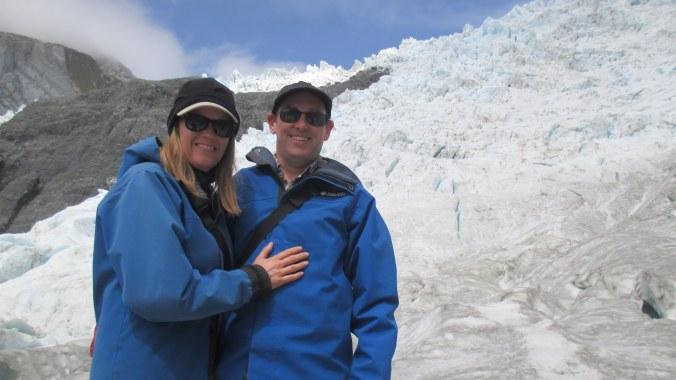 On Franz Josef Glacier.