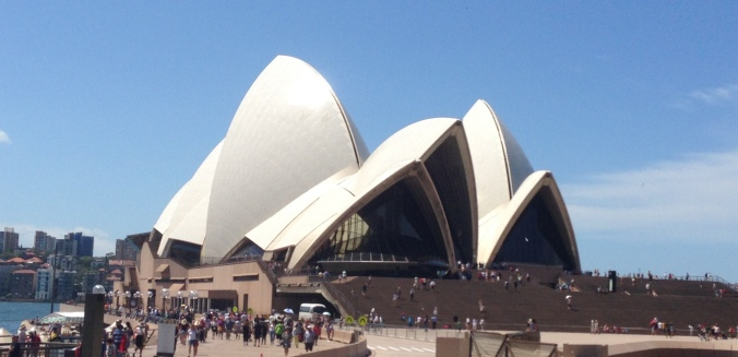 The Sydney Opera House - worth every penny.
