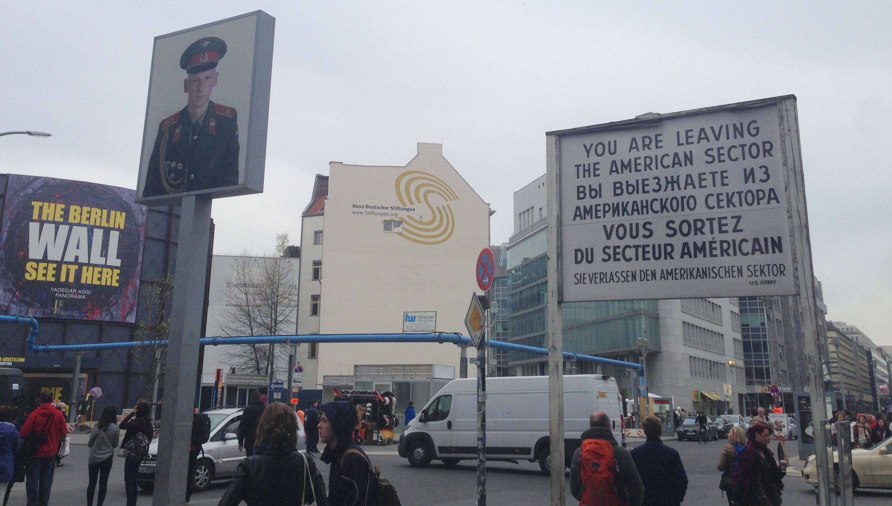 There's almost nothing original left at Checkpoint Charlie, but it is ...