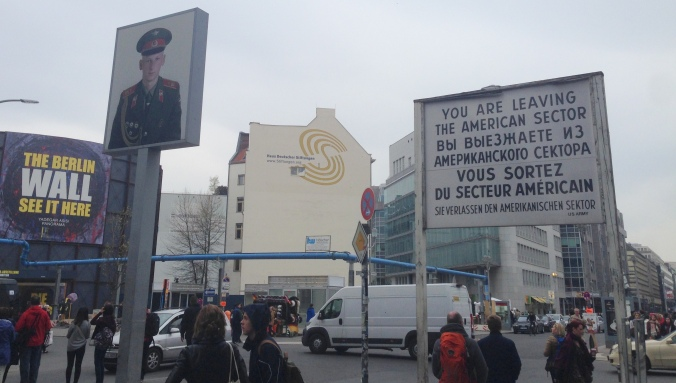 There's almost nothing original left at Checkpoint Charlie, but it is still a place where many people lost their lives trying to escape to the west.