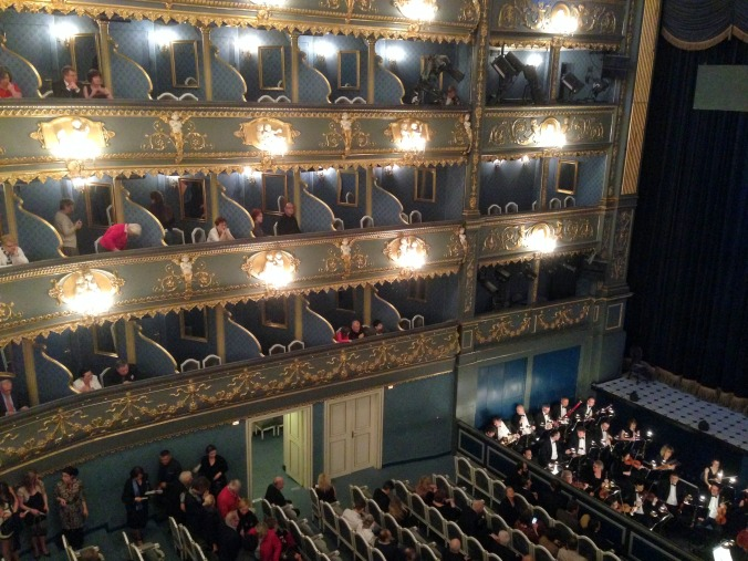 The Estates Theatre, where Amadeus was shot.