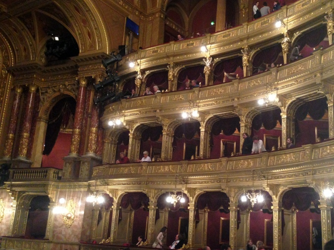 A gorgeous opera house with an impenetrable opera.