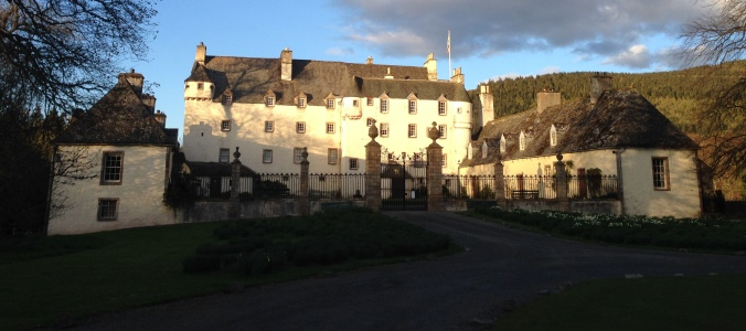 Traquair House in Southern Scotland - maybe my favorite stay of the trip.