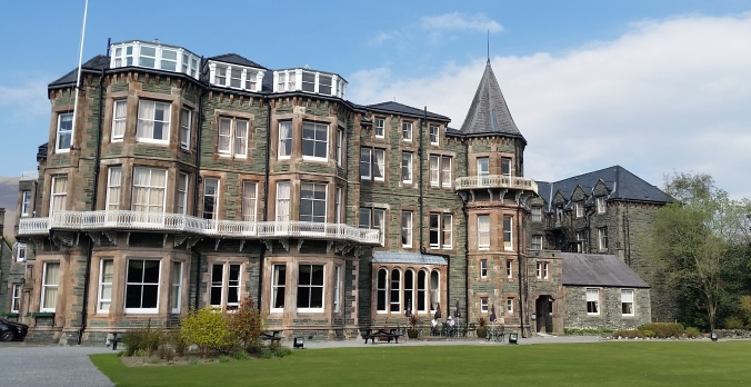 The Hotel Keswick, where the Queen once stayed!