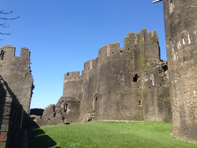 Caerphilly Castle - a most excellent castle.