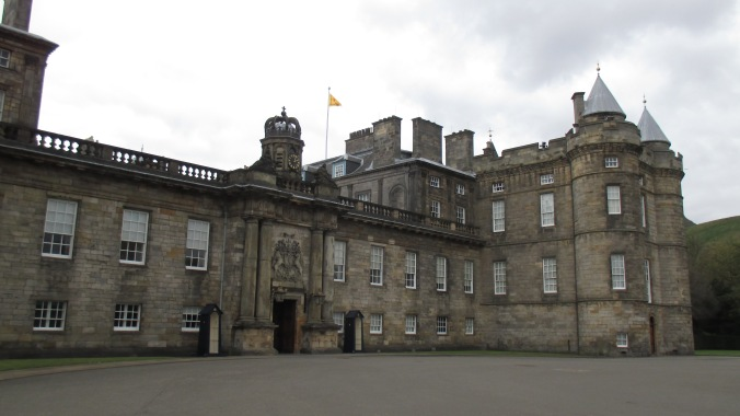 Holyrood Palace, where my mother went missing.