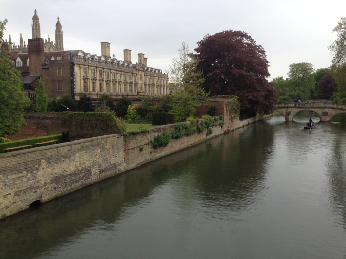 The lovely River Cam running through Cambridge.